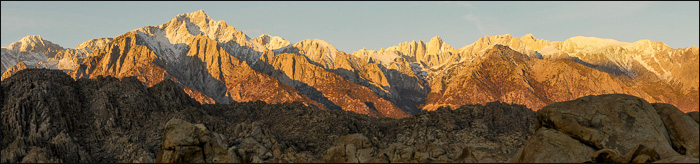 Eastern Sierras and Alabama Hills, Lone Pine, California