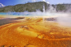 WY Yellowstone NP Grand Prismatic Spring