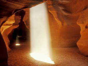 Slot Canyon light shaft